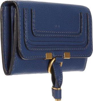 Chloé Marcie Continental Wallet-Blue