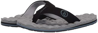 Volcom Recliner (Fog Grey) Men's Sandals