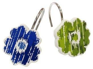 Waverly Refresh Shower Hook Blue/Green