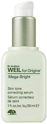 Dr. Weil for Origins Mega-Bright Skin tone correcting serum 1 oz (30 ml)