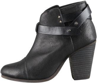 Rag and Bone Rag & Bone Harrow Leather Ankle Boot, Black