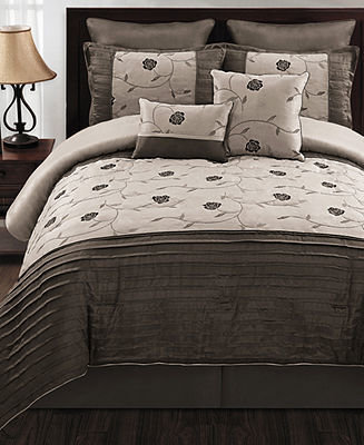 CLOSEOUT! Annabelle 8 Piece Queen Comforter Set