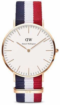 Daniel Wellington Classic Cambridge Watch, 40mm $195 thestylecure.com