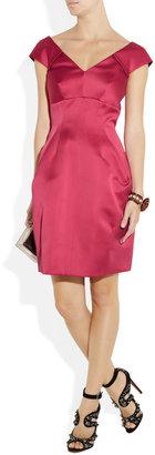 Marc Jacobs Pleated satin dress