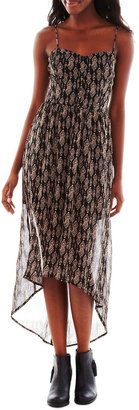 JCPenney Heart N Soul High-Low Maxi Dress