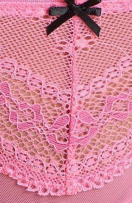 Betsey Johnson Eyelet Lace Thong