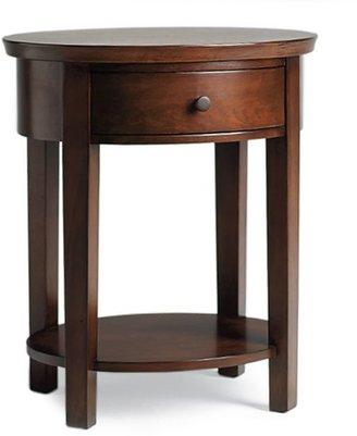 Pottery Barn Valencia Oval Bedside Table