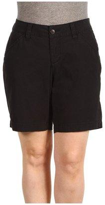 Jag Jeans Plus Size Sussex Short Twill (Black) - Apparel