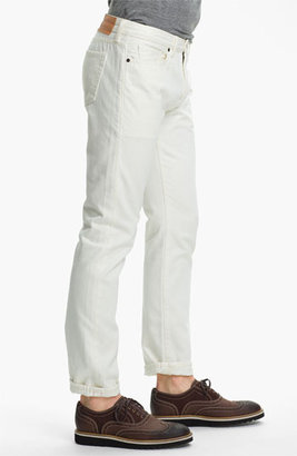 Levi's Made & CraftedTM Slim Fit Jeans (White)