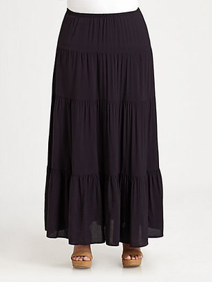 MICHAEL Michael Kors MICHAEL MICHAEL KORS, Salon Z Tiered Maxi Skirt