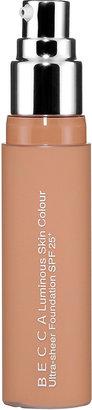 Becca Luminous Skin Colour Ultra Sheer Foundation SPF 25+