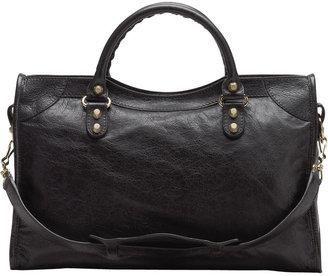 Balenciaga Giant 12 Golden City Bag, Black