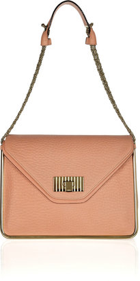 Chloé Sally textured-leather shoulder bag