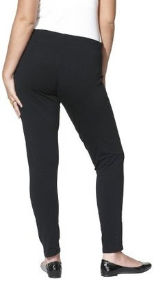 Junior's Plus Size Legging Black-Mossimo Supply Co