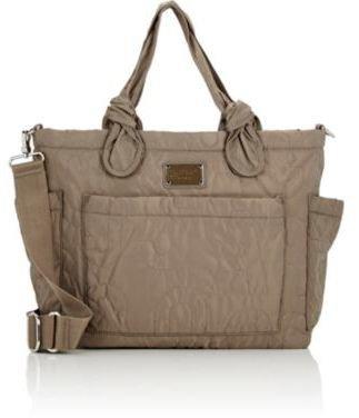 Marc Jacobs Preppy Eliz-A-Baby Diaper Bag-GREY $298 thestylecure.com