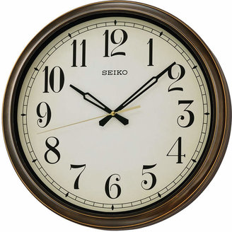 Seiko Outdoor Wall Clock QXA548BLH $95 thestylecure.com