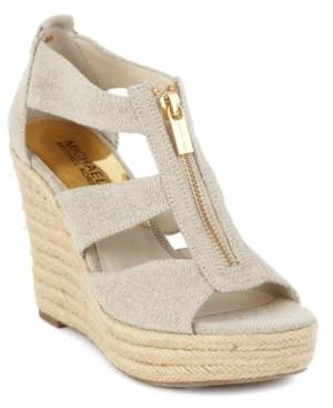 Michael Kors Michael Damita Platform Wedge Sandals Women's Shoes