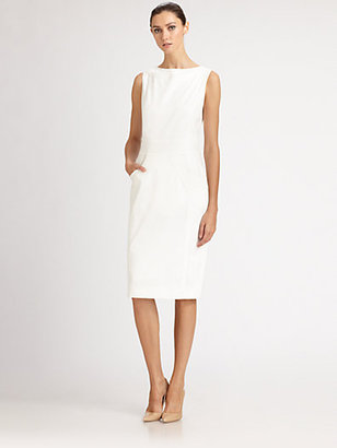 Carolina Herrera Stretch Cotton Dress