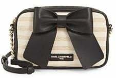 Karl Lagerfeld Paris Kris Windowpane Crossbody Bag