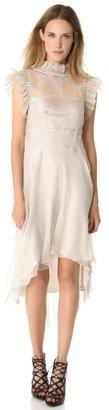 Alberta Ferretti collection Sleeveless Ruffle Dress