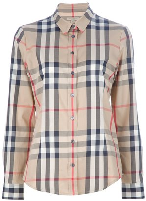 Burberry 'house' check shirt