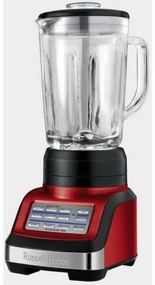 Russell Hobbs RHBL3000R Kitchen Metallics Blender Red
