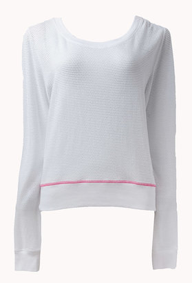 Forever 21 Perforated Pullover
