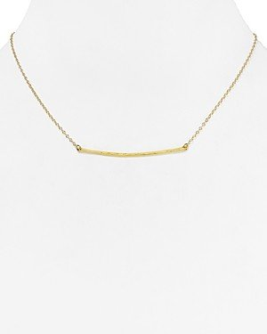Gorjana Small Taner Bar Necklace, 16.75