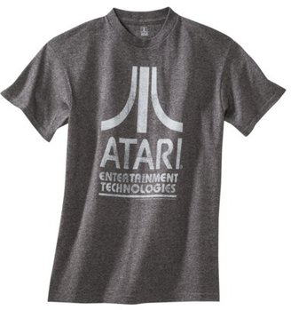 Atari Men's Graphic Tee - Charcoal Heather