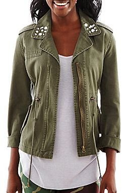 JCPenney Military Jacket