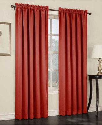 "Sun Zero Grant Room Darkening Pole Top 54"" x 95"" Curtain Panel"