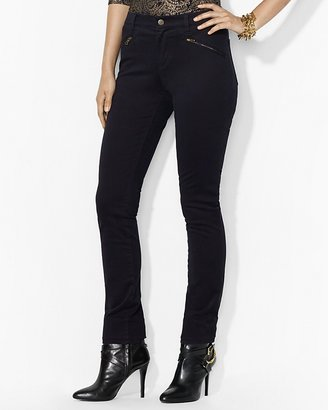 Lauren Ralph Lauren Straight Jeans with Zip Pockets