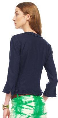 MICHAEL Michael Kors Washed Linen Blazer, Women's