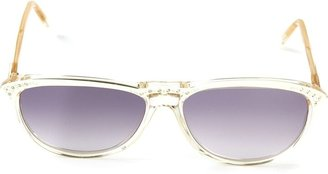 Saint Laurent Pre-Owned oval frame sunglasses