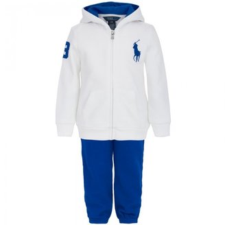 Ralph Lauren Blue and White Tracksuit