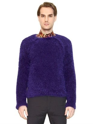 Paul Smith Mohair Blend Furry Sweater