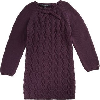Lili Gaufrette Cable Knit Sweater Dress
