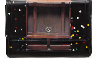 Givenchy Podium Confetti-Print Clutch Bag