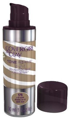 Cover Girl & Olay Tone Rehab 2-In-1 Foundation - Soft Sable 175