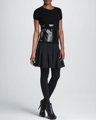 Paule Ka Yoked Skirt
