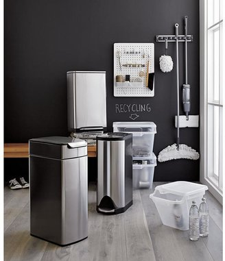 Crate & Barrel Small Stacking Recycle Bin