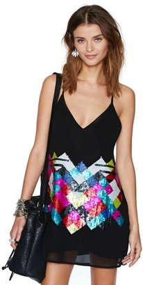 Nasty Gal Sparked Sequin Dress
