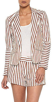 Joe's Jeans Joe ́s Jeans Mix-Match Striped Suit Jacket