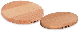 Staub Magnetic Wooden Trivet