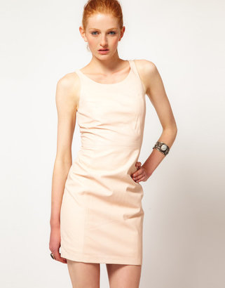 ADAM by Adam Lippes Leather Mini Dress