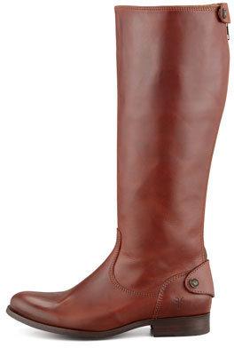 Frye Melissa Zip Riding Boot, Cognac