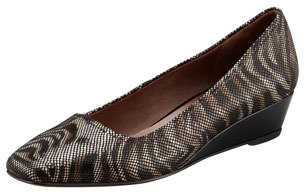 Donald J Pliner Pisa Crepe Wedge Pump, Zebra