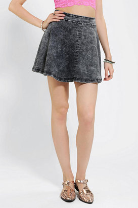 Urban Outfitters B.P. Collection Acid-Wash Circle Skirt