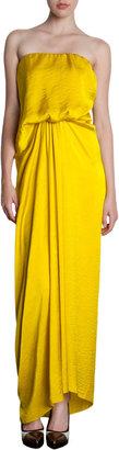 Lanvin Asymmetric Drape Dress