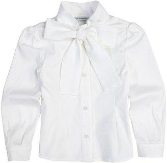 Dolce & Gabbana White Shirt (Toddler/Little Kids/Big Kids) (White) - Apparel